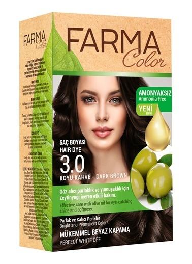 Farmasi Farmacolor Saç Boyası 3.0 Koyu Kahve Renksiz